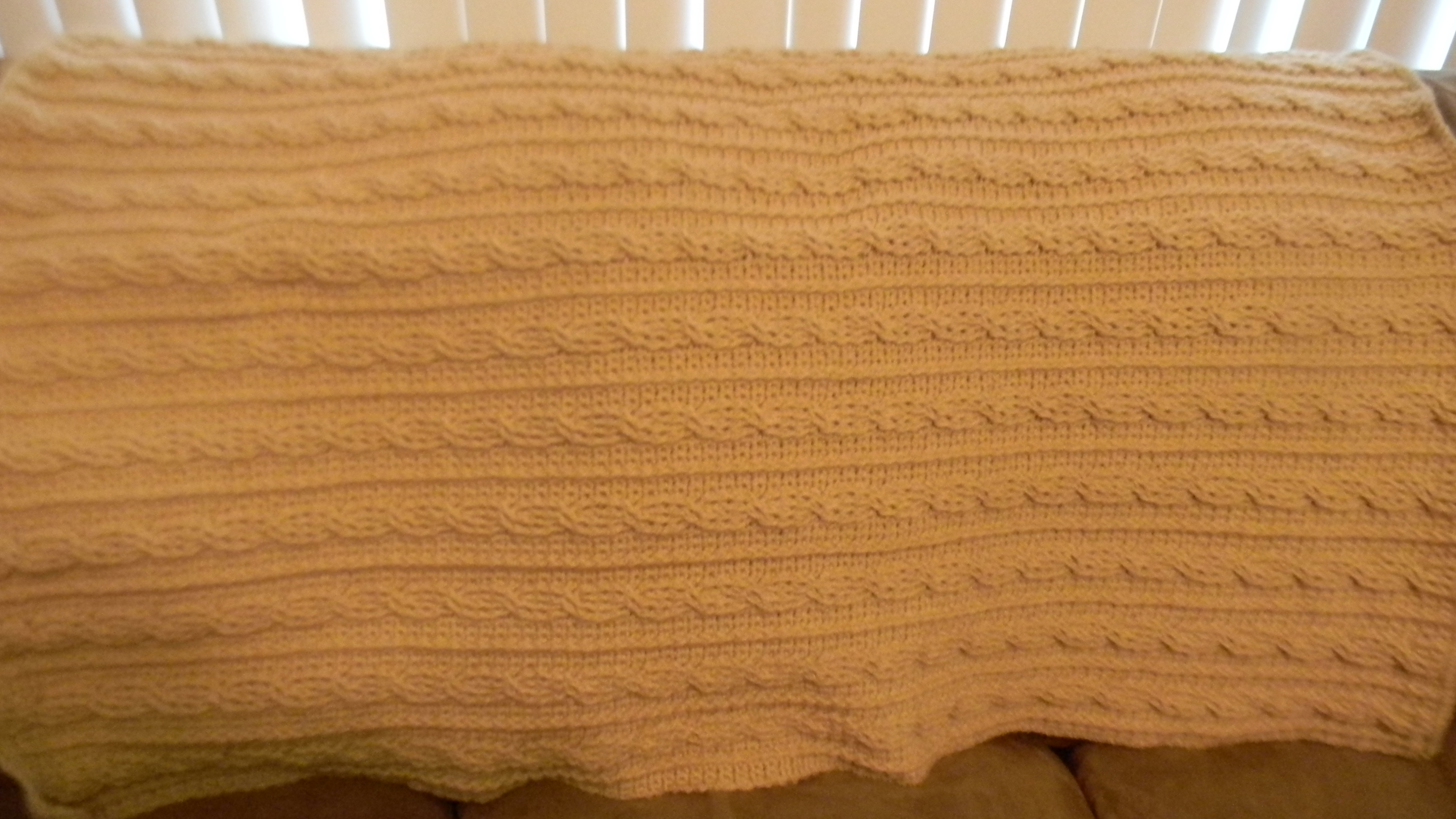 Crochet Cable Afghan Free Pattern Lifewithkeo